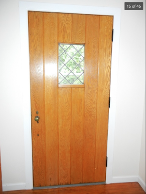 1930s vintage tudor door