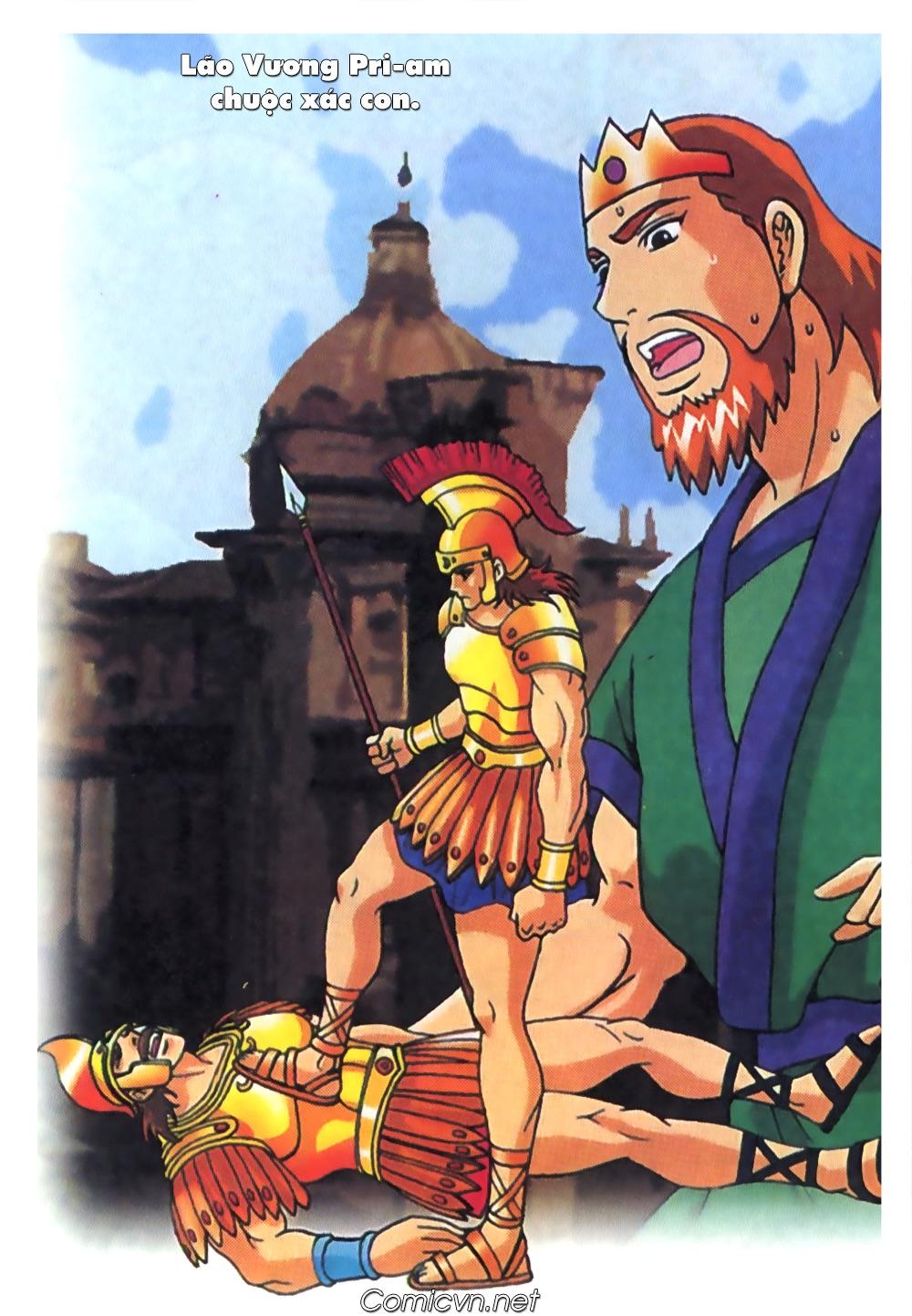 Thần Thoại Hy Lạp Màu - Chapter 63: Lão vương Pri am chuộc xác con - Pic 1