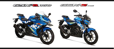 Suzuki GSX-S150 & Suzuki GSX-R150 Image