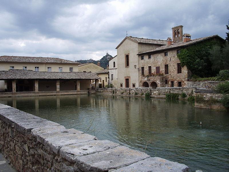Bici amici vino pici da chianciano a bagno vignoni - Bagno vignoni terme ...