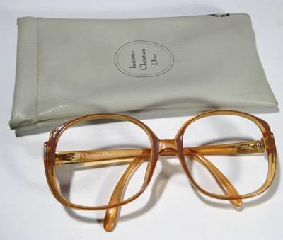 b04391e50230b Bazar das Lulitas   Armação de óculos Christian DIOR  vintage