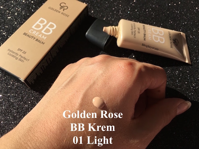 golden rose bb cream beauty balm spf25 bb krem 01 light