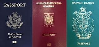 Paşaport românesc