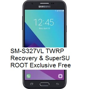 SM-S327VL TWRP Recovery & SuperSU ROOT Exclusive Free