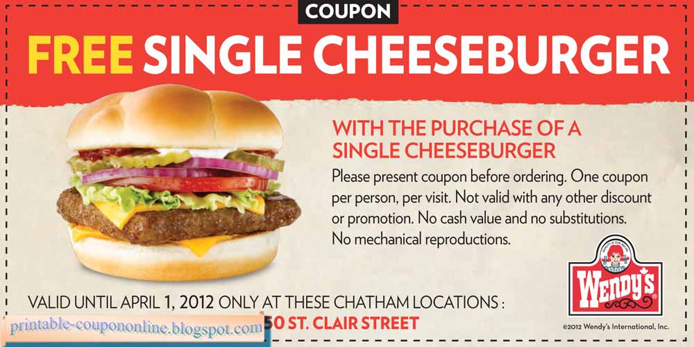 photograph relating to Wendy's Printable Coupons named Wendys printable discount codes canada - Cyber monday bargains upon