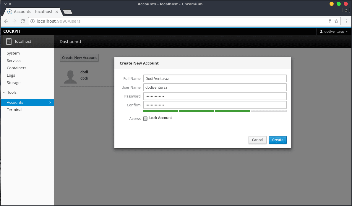 Cockpit - Tool Monitoring Powerful Untuk Linux Server