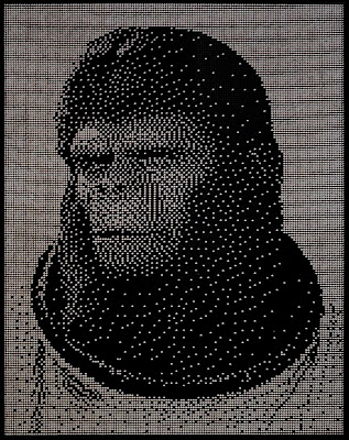 cornelius planet of the apes made of ball bearings