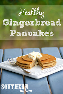 Healthy Gingerbread Pancakes Recipe Gluten Free