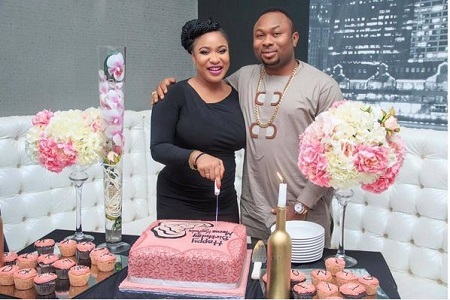 Nigerian Actress, Tonto Dikeh Rocks on Her 31st Birthday Party (Photos)