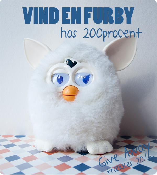 200procent: Vind en Furby!