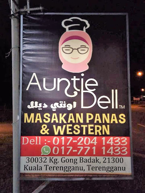 Puas Hati Makan Malam di Auntie Dell