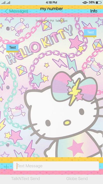 Hellow Kitty Theme Oppo F3