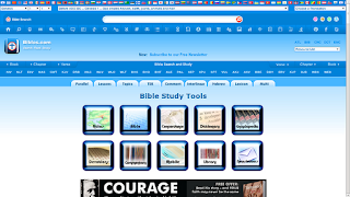 The Bible Hub home page