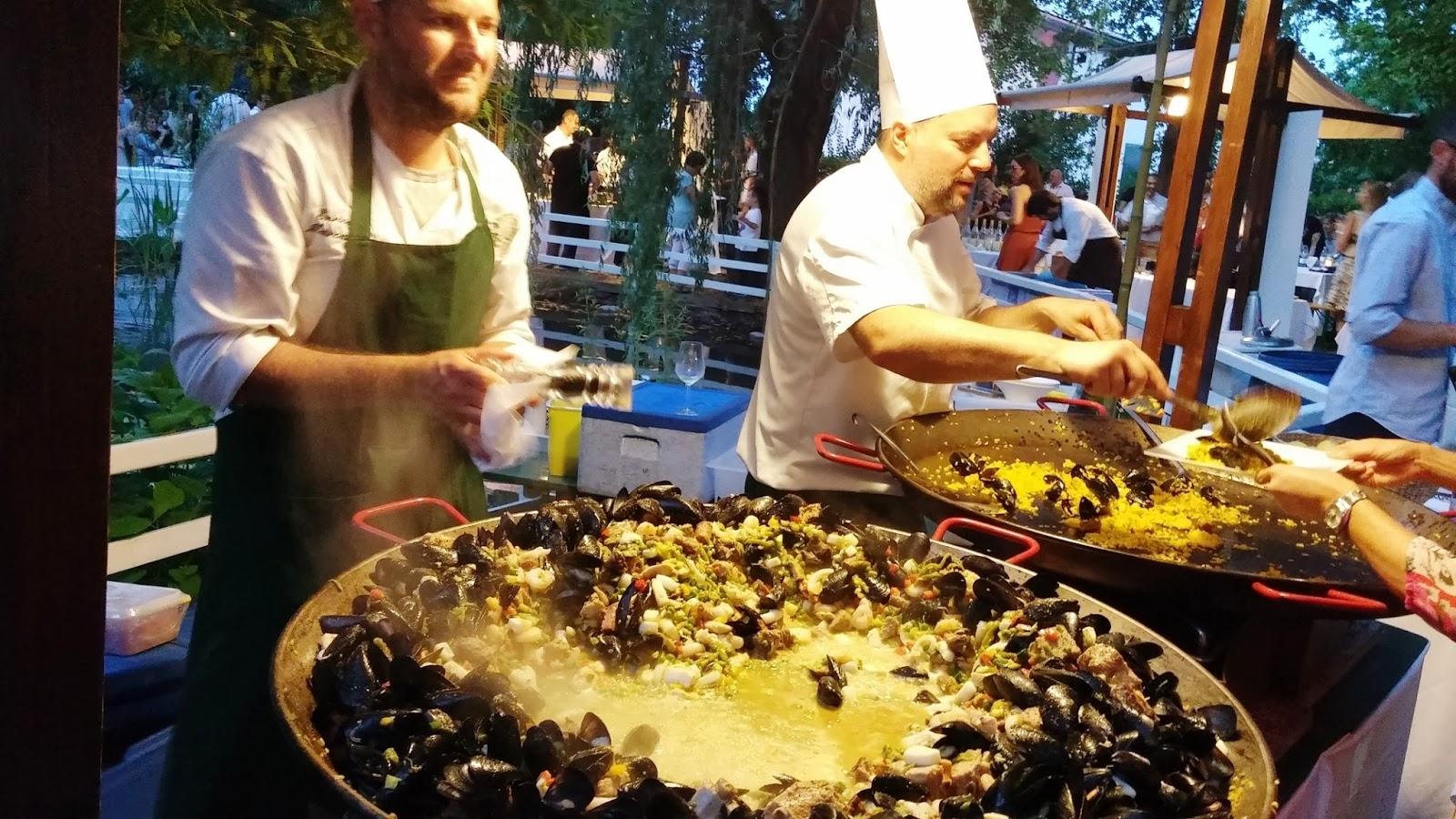 Cucina alla moda calici divini il party dell 39 estate tra - Pizzeria la finestra treviso ...