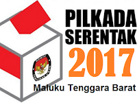 Hasil Pengundian Nomor Urut Paslon di KPU Maluku Tenggara Barat