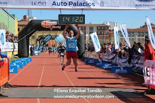 7 dias Media Maraton Leon 2017