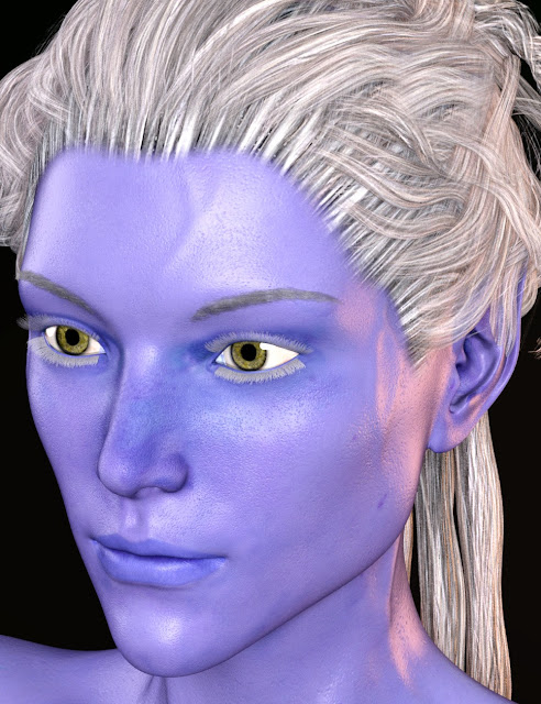 SY The Blue Ones Genesis 3 Female