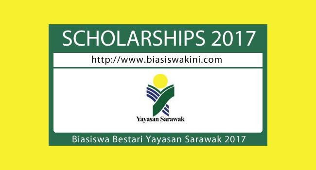 Permohonan Biasiswa Bestari Yayasan Sarawak Sesi Pengajian 2017/2018