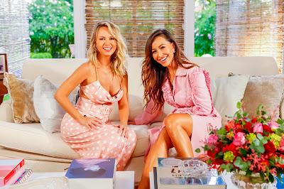 Eliana e Sabrina (Crédito: Gabriel Cardoso/SBT)