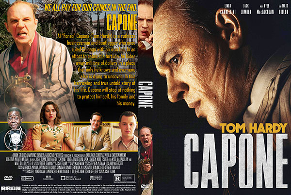Capone (2020) DVD Cover