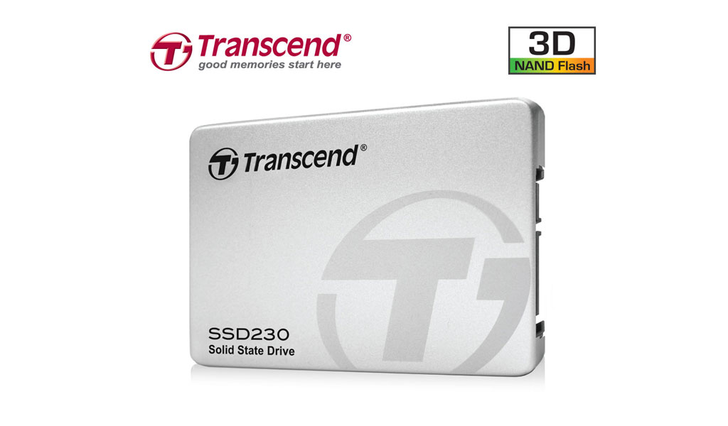 Transcend SSD with 3D NAND Flash