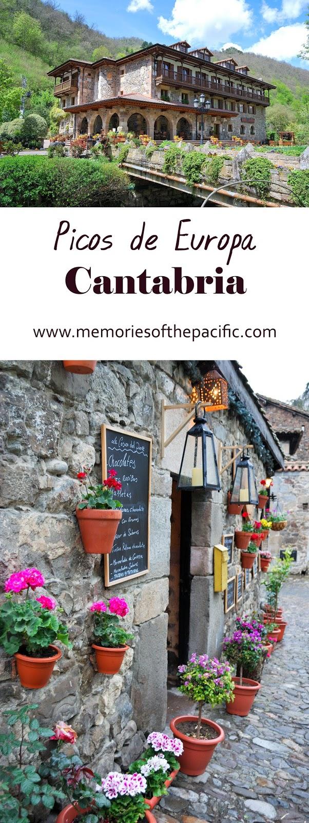 potes cantabria mountains spain picos europa flores tienda flower hotel del oso cosgaya