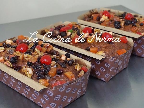 FRUIT CAKE (PASTEL DE FRUTAS NAVIDEÑO)