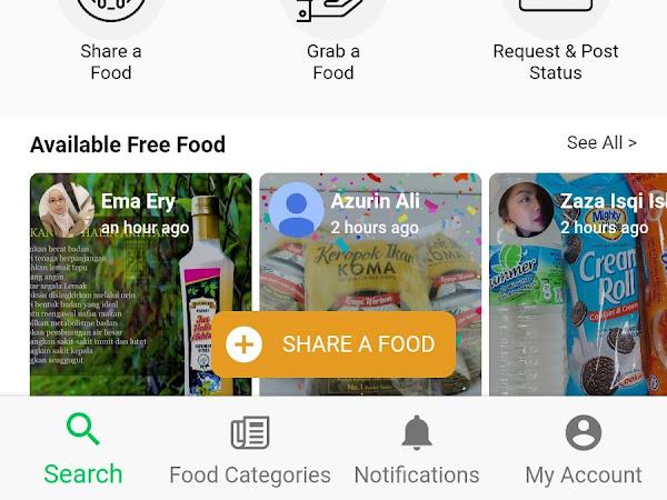 Mudahnya bersedekah dengan Aplikasi Oh Free Food