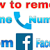 How to Remove Telephone Number From Facebook Updated 2019