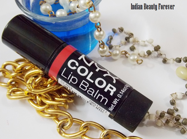 Nyx Color Lip Balm in Thank You Review