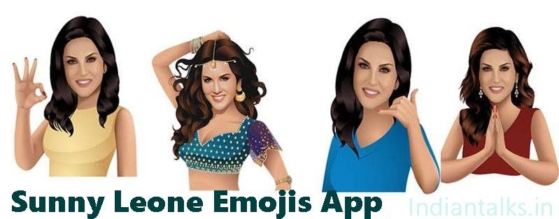 Sunny Leone Emojis App