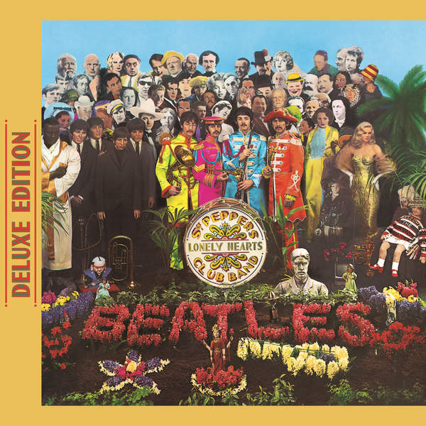 The Beatles - Sgt. Pepper's Lonely Hearts Club Band (Deluxe Edition) Cover