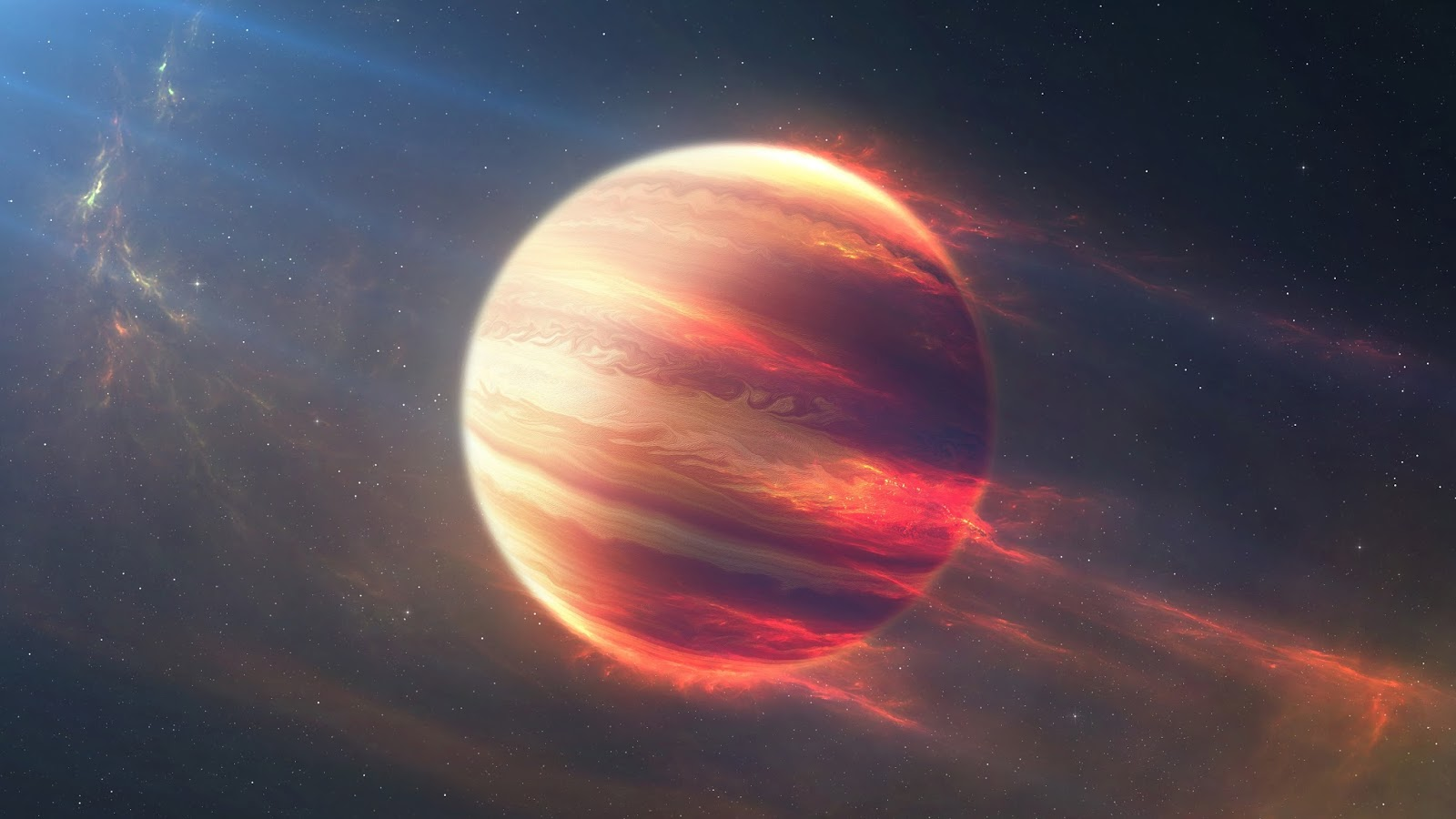 Beyond Earthly Skies: Hot Planet Orbiting a Rapidly-Rotating