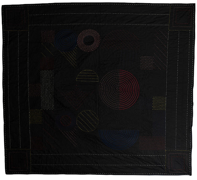 Love Love Love a quilt by Pachy Sarmiento-Bull (back)