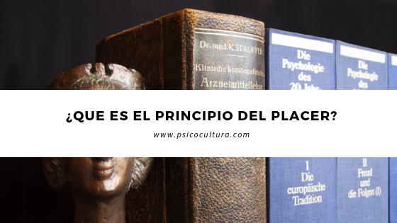¿Que es el principio del placer?