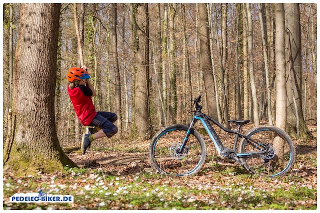 Kinder eMountainbike: Spaß auf dem Trail und Spaß im Wald.