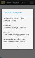 Aplikasi Rotibul Haddad P2S2 Berbasis Android