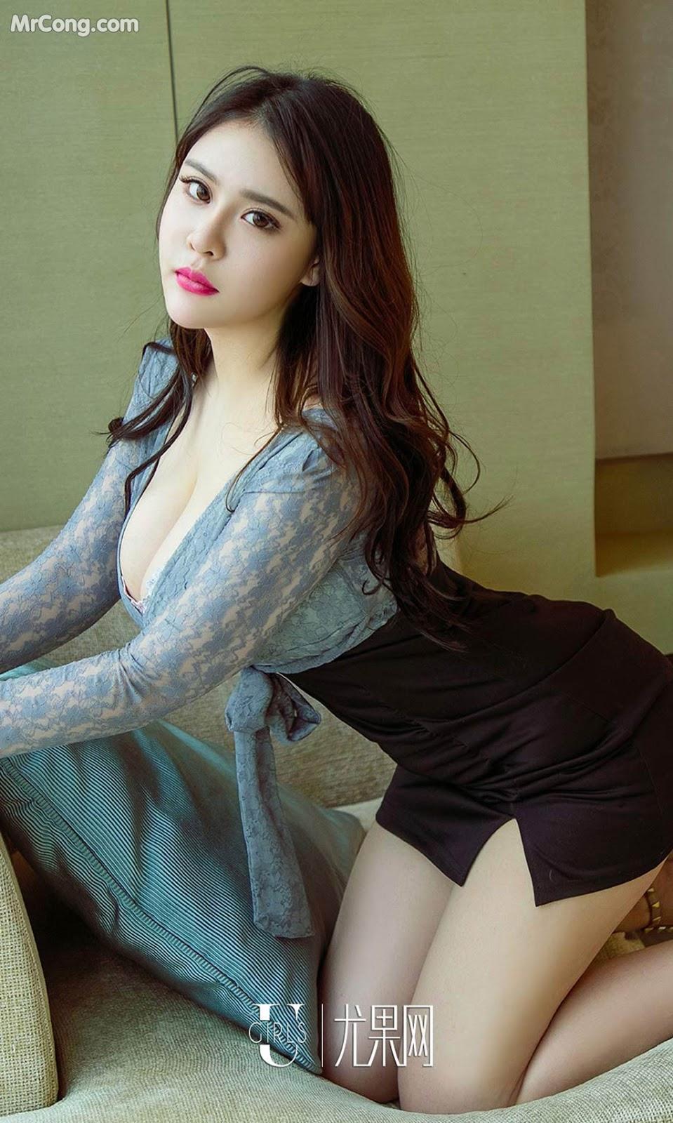 Image UGIRLS-Ai-You-Wu-App-No.1092-Yang-Xuan-Er-MrCong.com-007 in post UGIRLS – Ai You Wu App No.1092: Người mẫu Yang Xuan Er (杨宣儿) (35 ảnh)