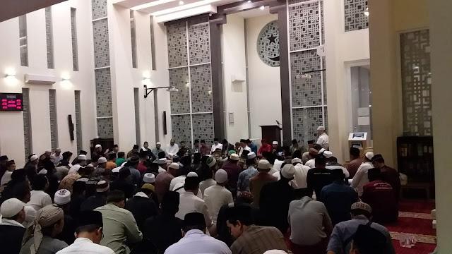 Sempat Dibubarkan Wahabi, Maulid di Masjid Bintaro Dipenuhi Ribuan Jamaah