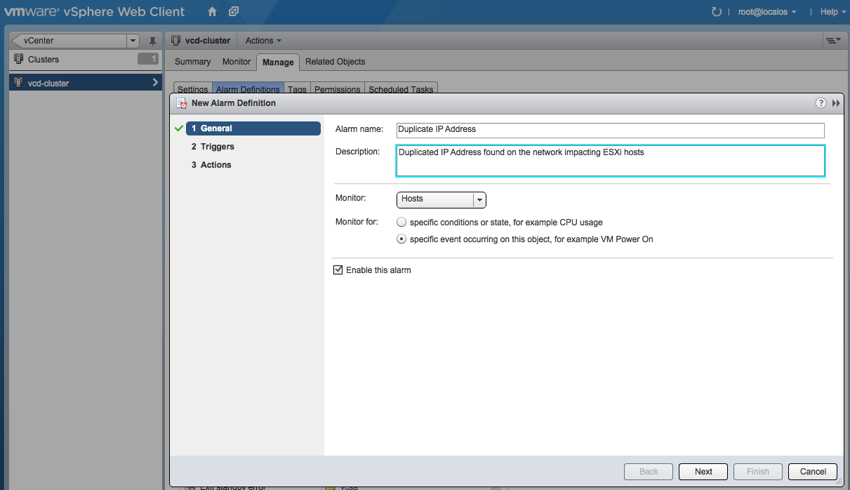 Detecting A Duplicate IP Address For Your ESXi Hosts Using a