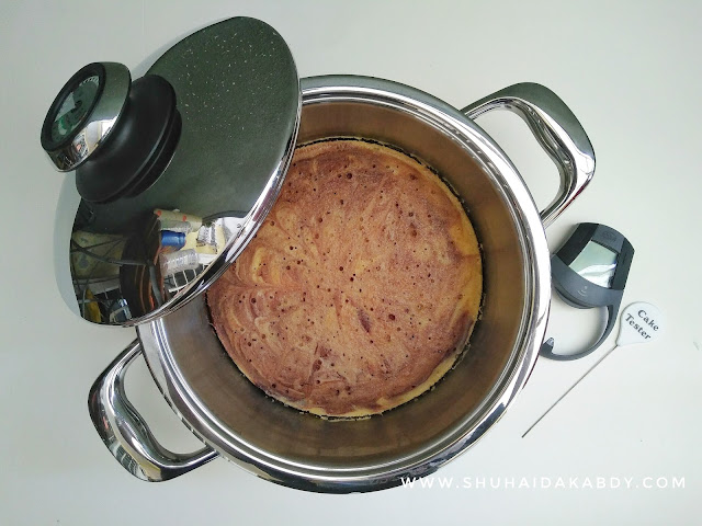 Resepi Kek Butter Mudah Dengan Periuk AMC