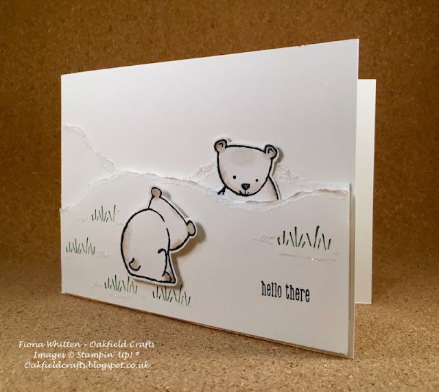 Stamp' Up!, Animal cards, A Little Wild, Stampin' Blends