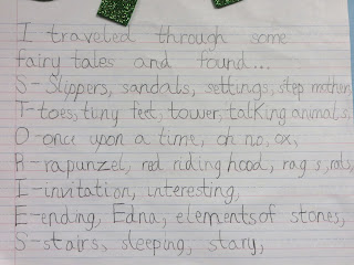 First Grade Wow: I traveled through some fairy tales and