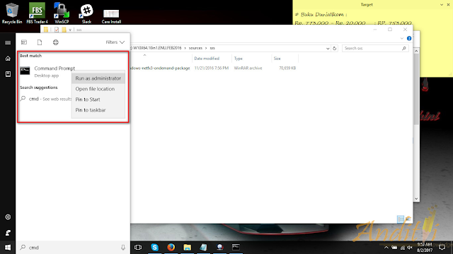 Cara Install Net Framework 3.5 di Windows 10 Offline-anditii.web.id