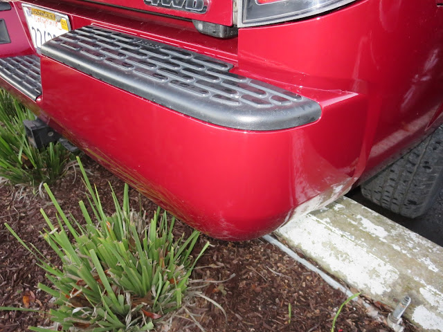 Bumper after repairs & paint at Almost Everything Auto Body