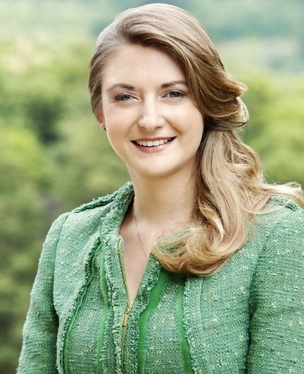 Crown Grand Duchess Stephanie. Before her birthday, Grand Duchess gave two different interviews to French magazine Point de Vue and Luxembourg newspaper Telecran.
