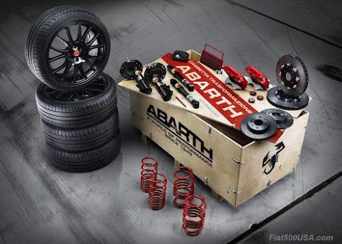 Abarth Transformation Kit