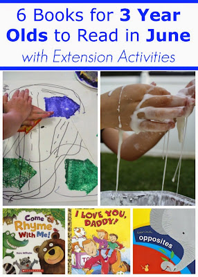 June Books for 2 and 3 Year Olds with Extension Projects