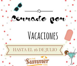Mi cartel de vacaciones