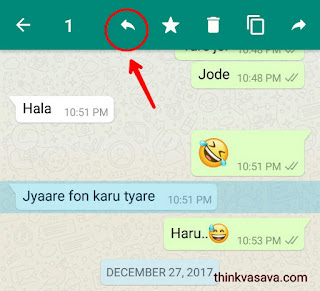Whatsapp Quote Feature